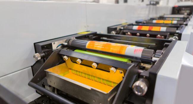flexodruk, maszyna flexo, druk etykiet